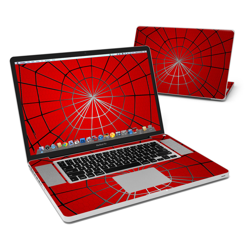 Webslinger MacBook Pro 17-inch Skin