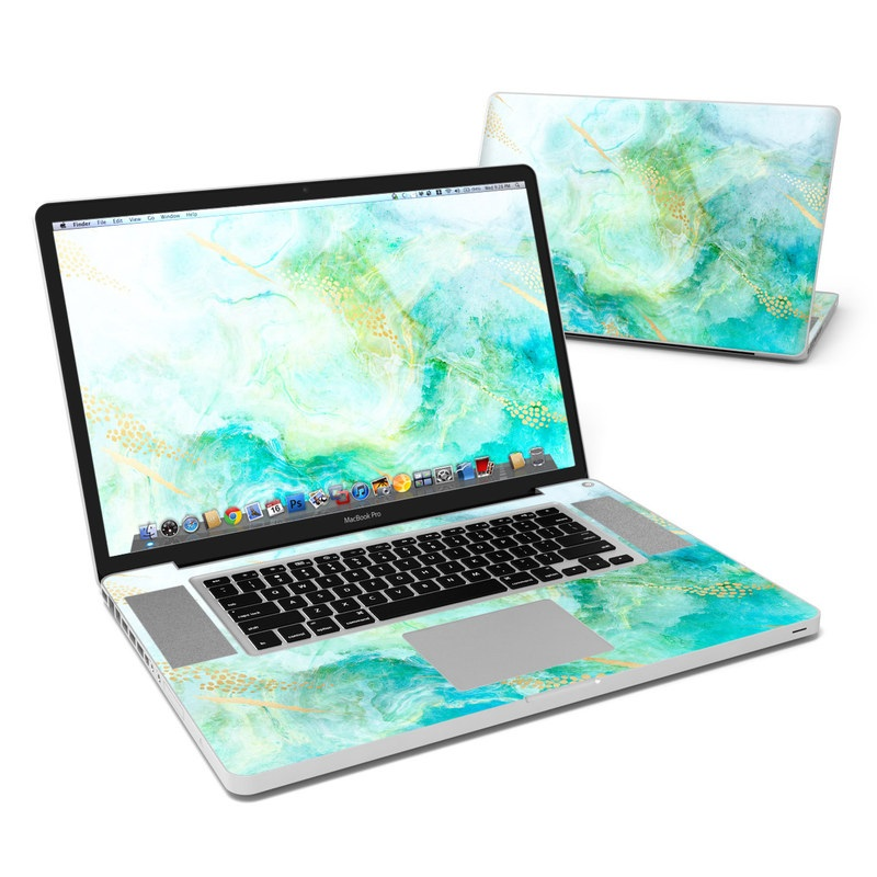 Winter Marble MacBook Pro 17-inch Skin