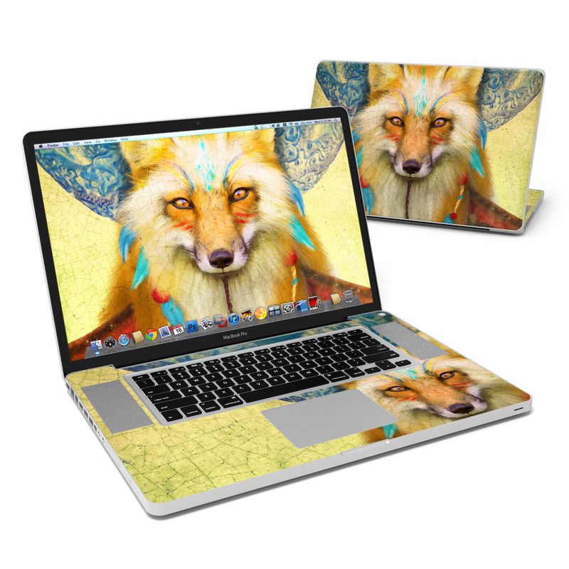 Wise Fox MacBook Pro 17-inch Skin
