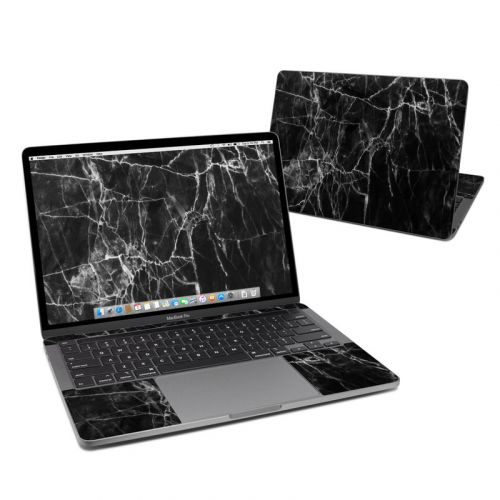 Black Marble MacBook Pro 13-inch Skin