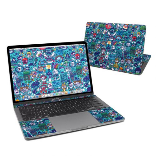 Cosmic Ray MacBook Pro 13-inch Skin