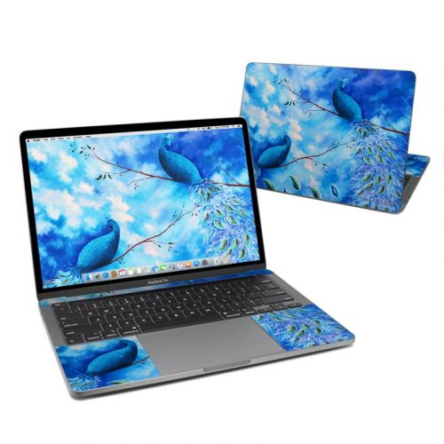 Paradise Peacocks MacBook Pro 13-inch Skin