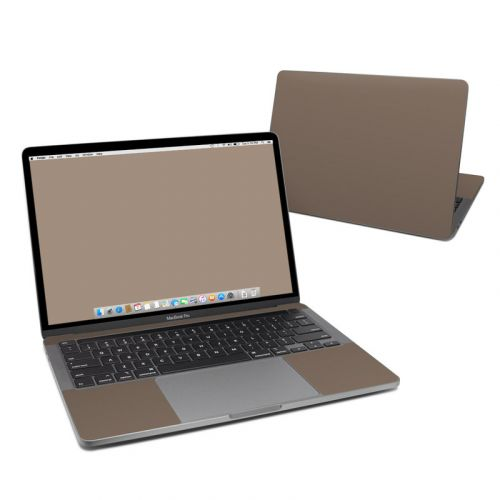 Solid State Flat Dark Earth MacBook Pro 13-inch Skin