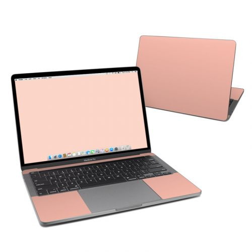 Solid State Peach MacBook Pro 13-inch Skin