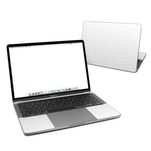 Solid State White MacBook Pro 13-inch Skin