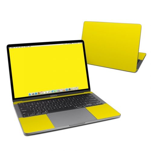 Solid State Yellow MacBook Pro 13-inch Skin