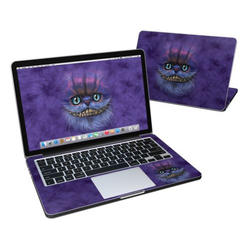 Cheshire Grin MacBook Pro Pre 2016 Retina 13-inch Skin