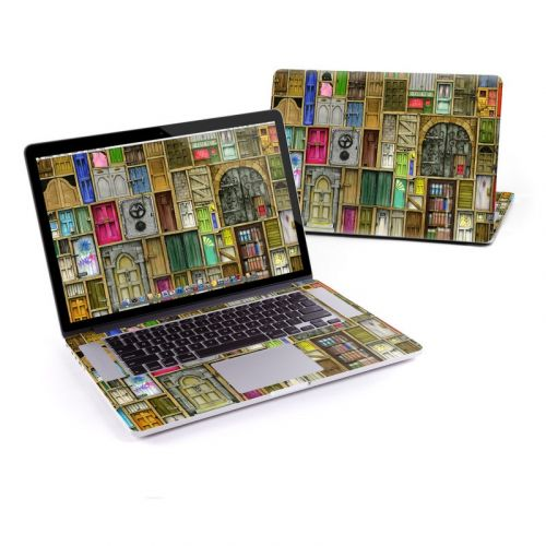 Doors Closed MacBook Pro Retina 13-inch Skin