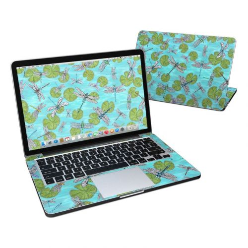 Dragonflies Over Pond MacBook Pro Retina 13-inch Skin