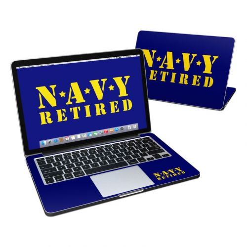 Navy Retired MacBook Pro Retina 13-inch Skin