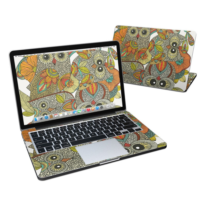 4 owls MacBook Pro Retina 13-inch Skin