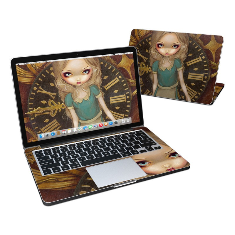 Alice Clockwork MacBook Pro Retina 13-inch Skin