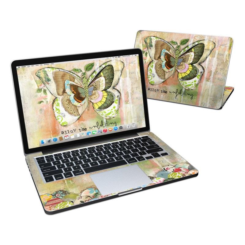 Allow The Unfolding MacBook Pro Retina 13-inch Skin
