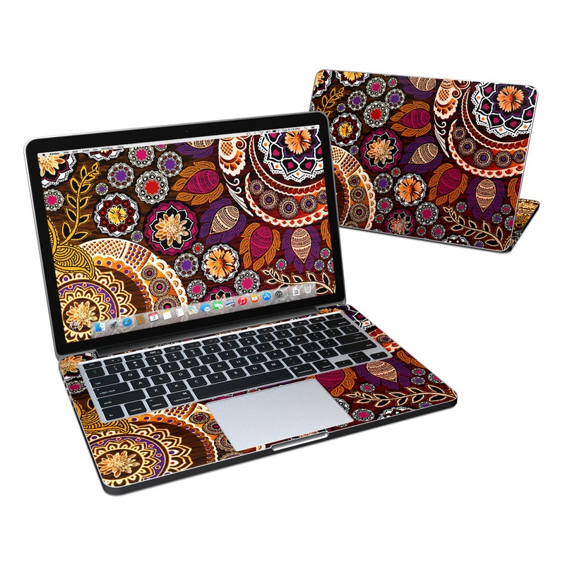 Autumn Mehndi MacBook Pro Retina 13-inch Skin