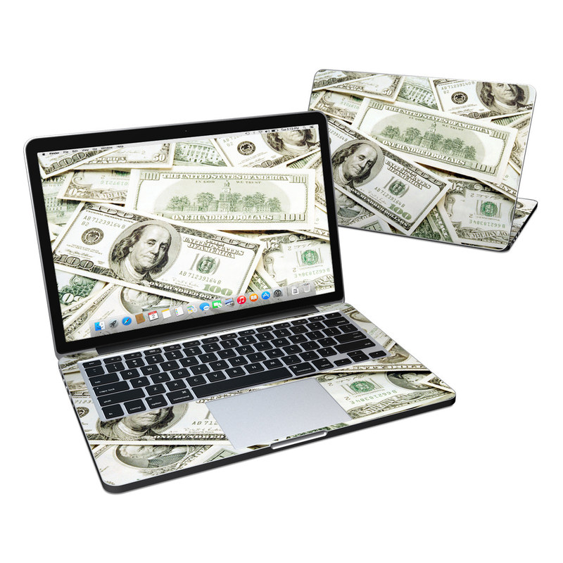 Benjamins MacBook Pro Retina 13-inch Skin