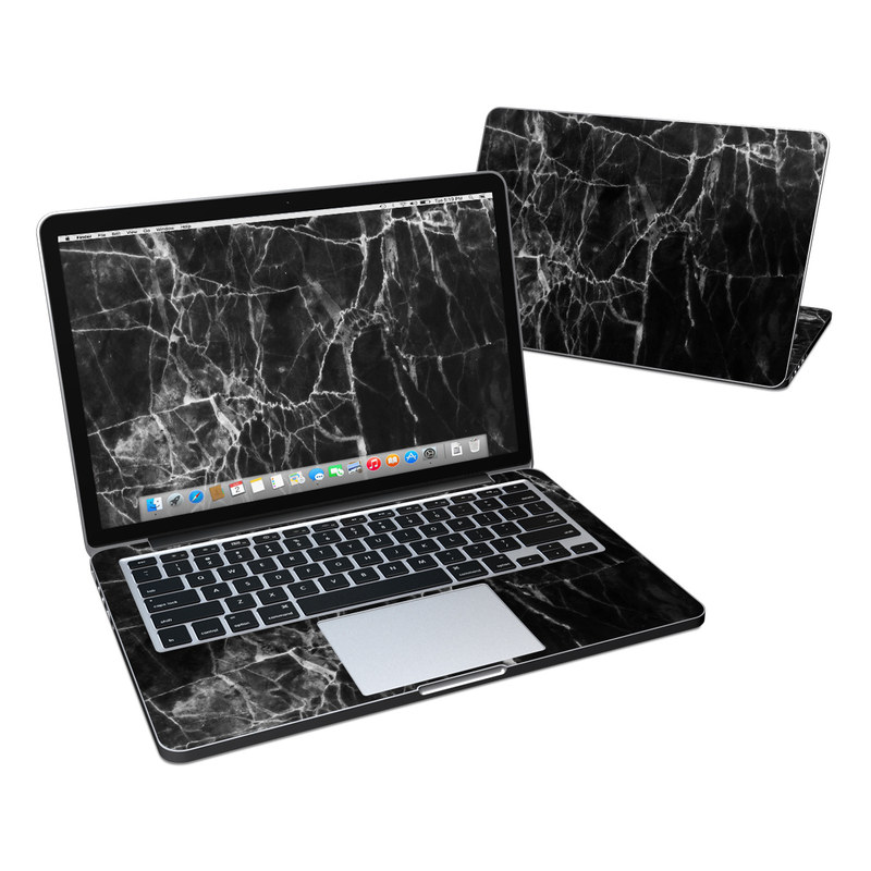 Black Marble MacBook Pro Retina 13-inch Skin