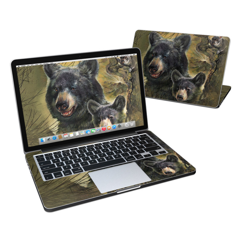 Black Bears MacBook Pro Retina 13-inch Skin