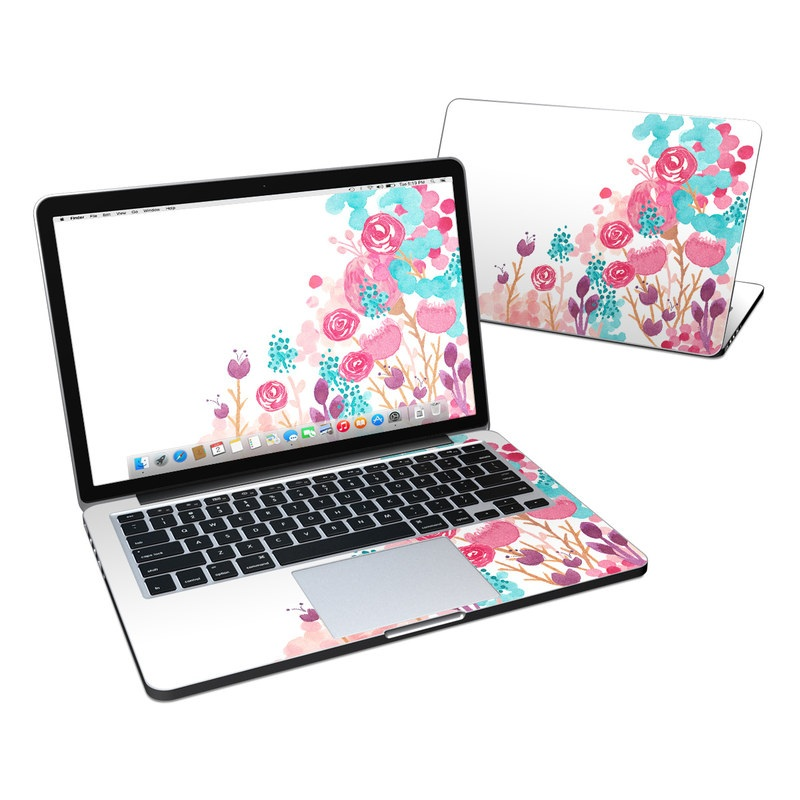 Blush Blossoms MacBook Pro Pre 2016 Retina 13-inch Skin