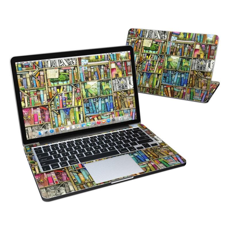 Bookshelf MacBook Pro Retina 13-inch Skin