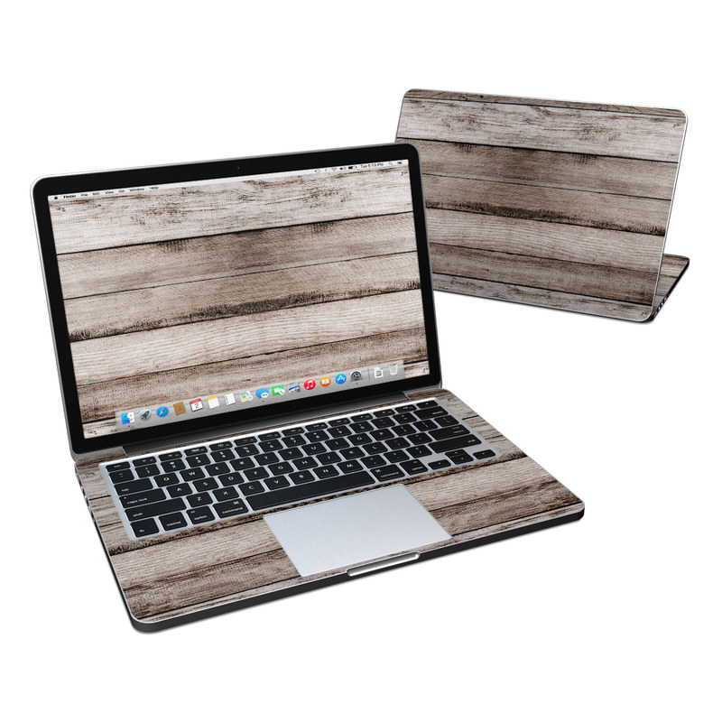 Barn Wood MacBook Pro Retina 13-inch Skin
