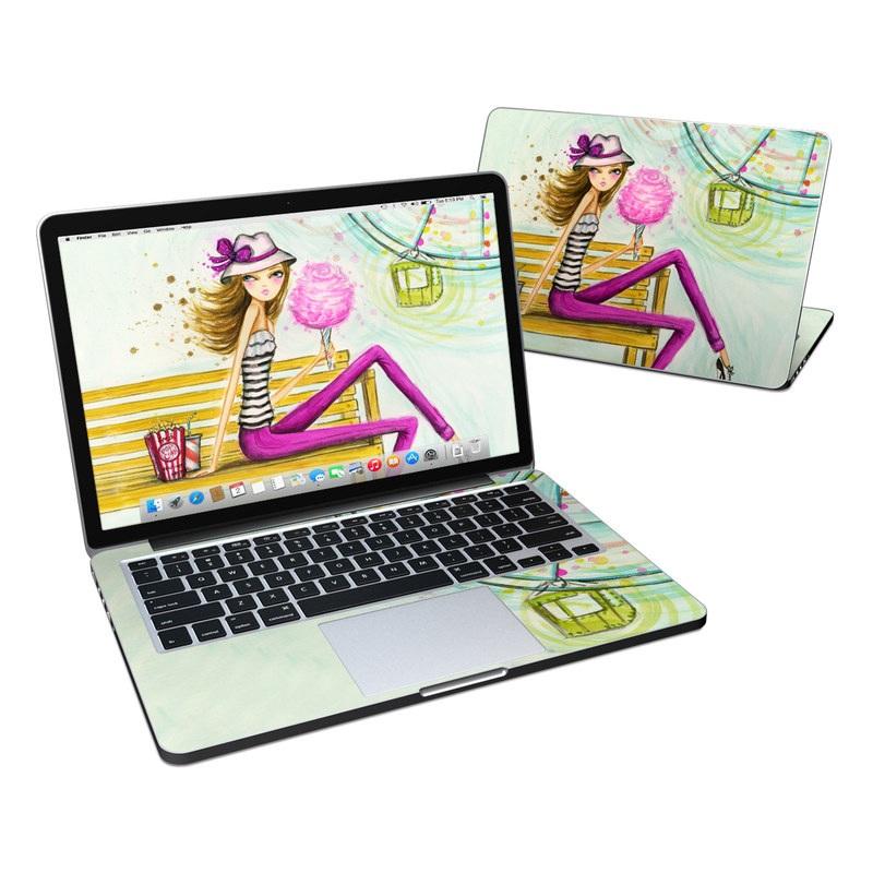 Carnival Cotton Candy MacBook Pro Retina 13-inch Skin