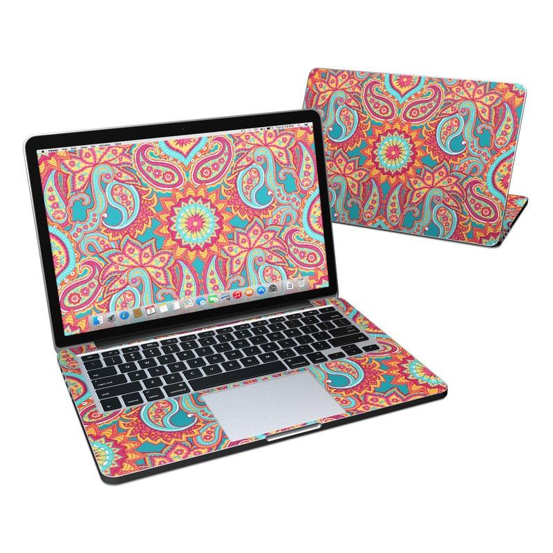 Carnival Paisley MacBook Pro Pre 2016 Retina 13-inch Skin
