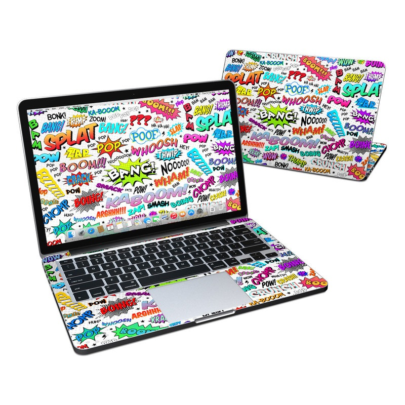 Comics MacBook Pro Retina 13-inch Skin