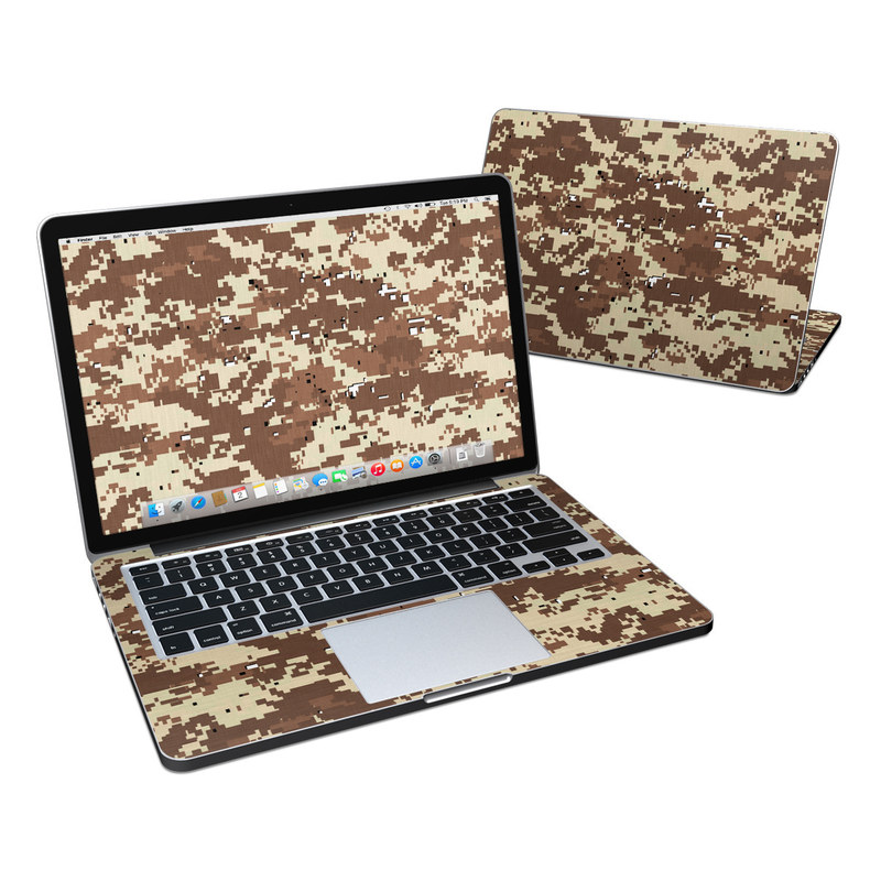 Digital Desert Camo MacBook Pro Retina 13-inch Skin