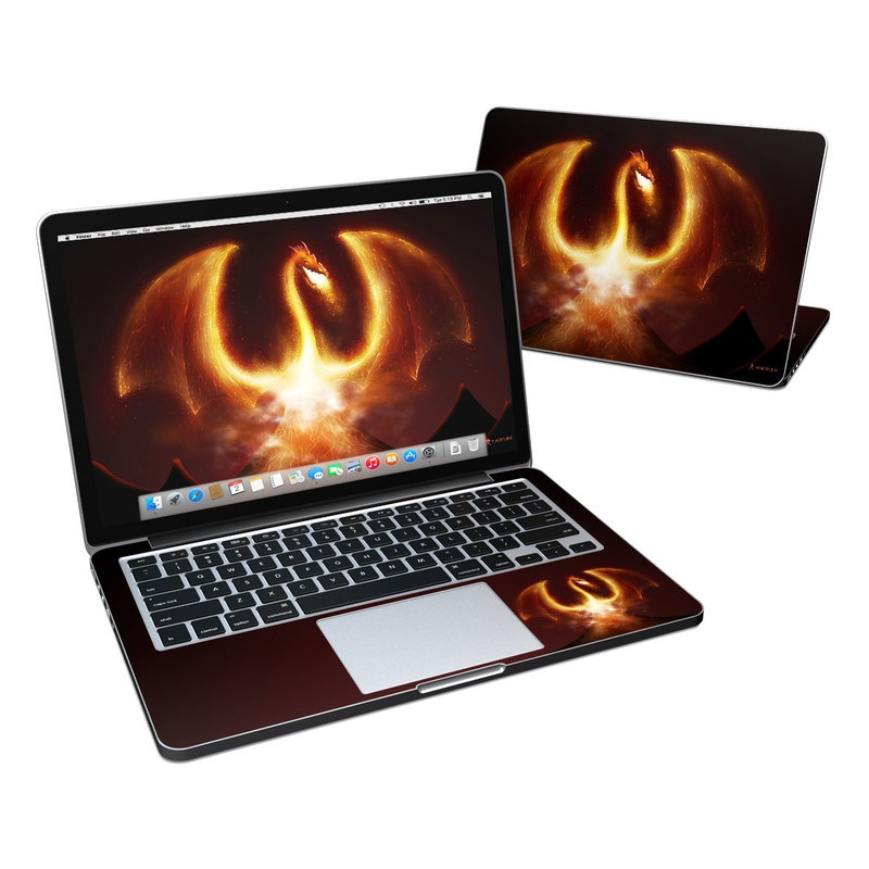Fire Dragon MacBook Pro Retina 13-inch Skin