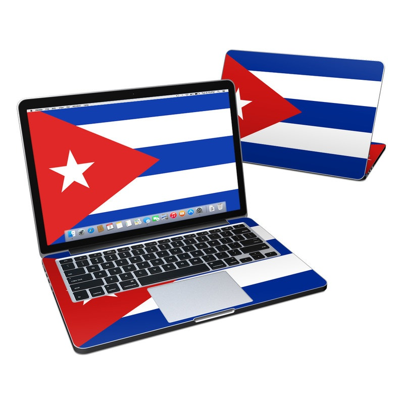Cuban Flag MacBook Pro Retina 13-inch Skin