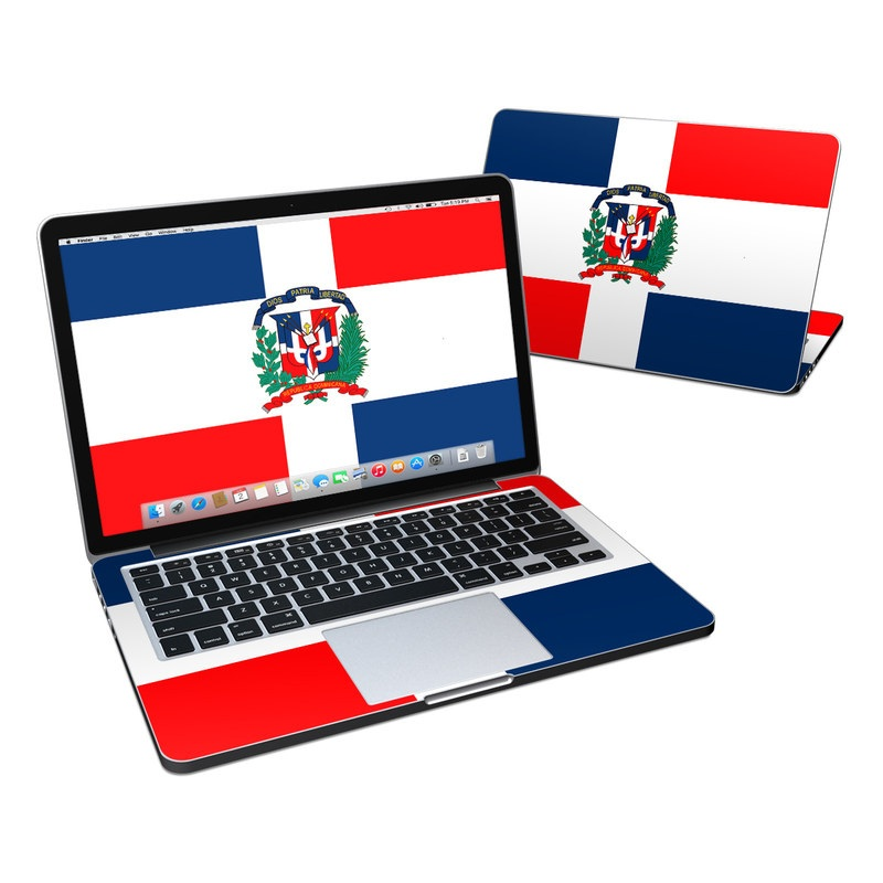 Dominican Republic Flag MacBook Pro Pre 2016 Retina 13-inch Skin
