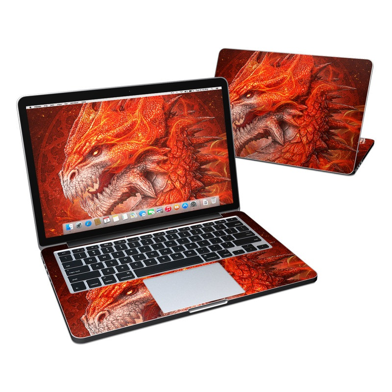 Flame Dragon MacBook Pro Retina 13-inch Skin