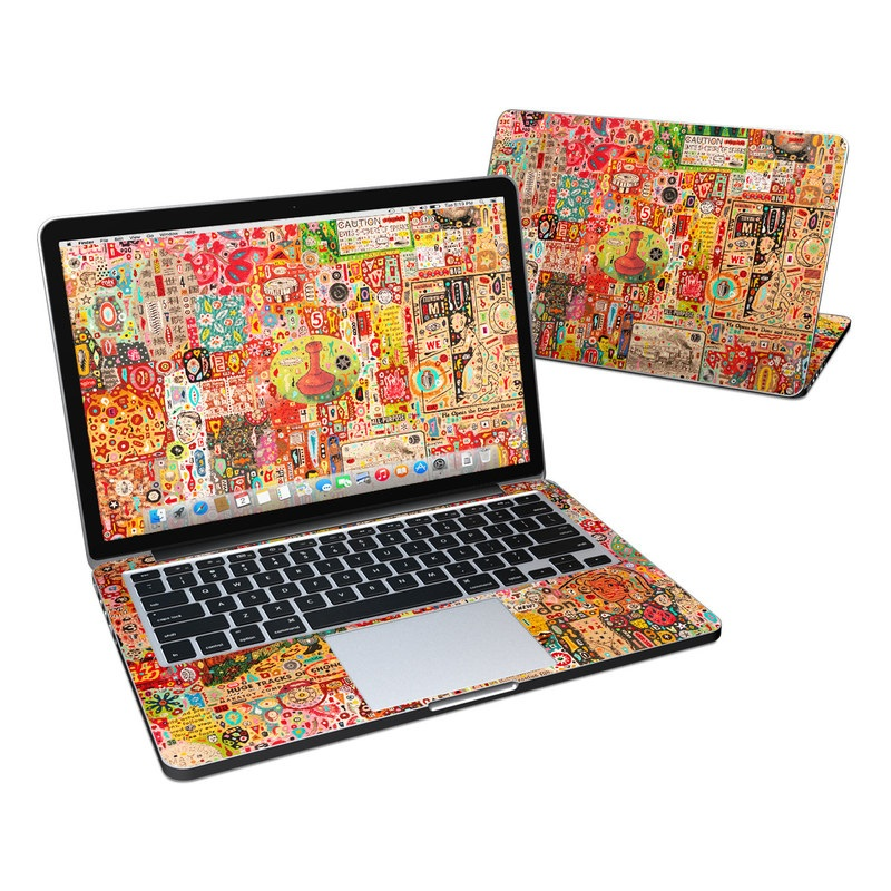 Flotsam And Jetsam MacBook Pro Retina 13-inch Skin