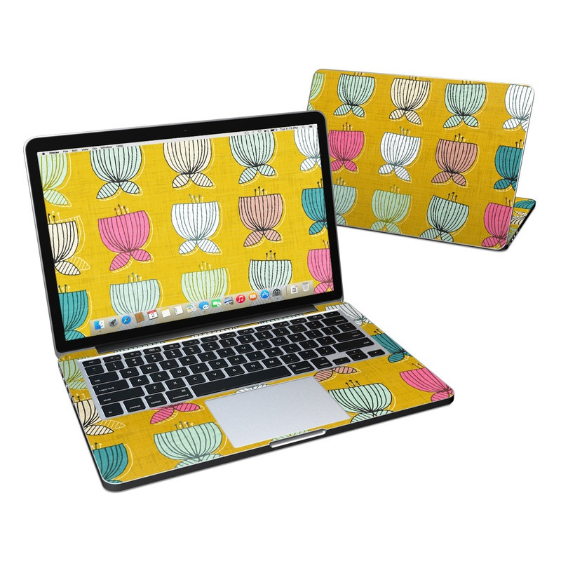 Flower Cups MacBook Pro Retina 13-inch Skin
