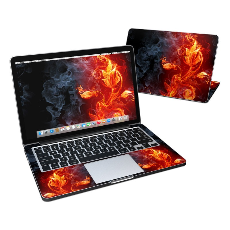 Flower Of Fire MacBook Pro Retina 13-inch Skin