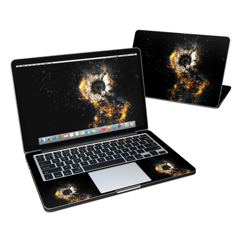 Flower Fury MacBook Pro Retina 13-inch Skin