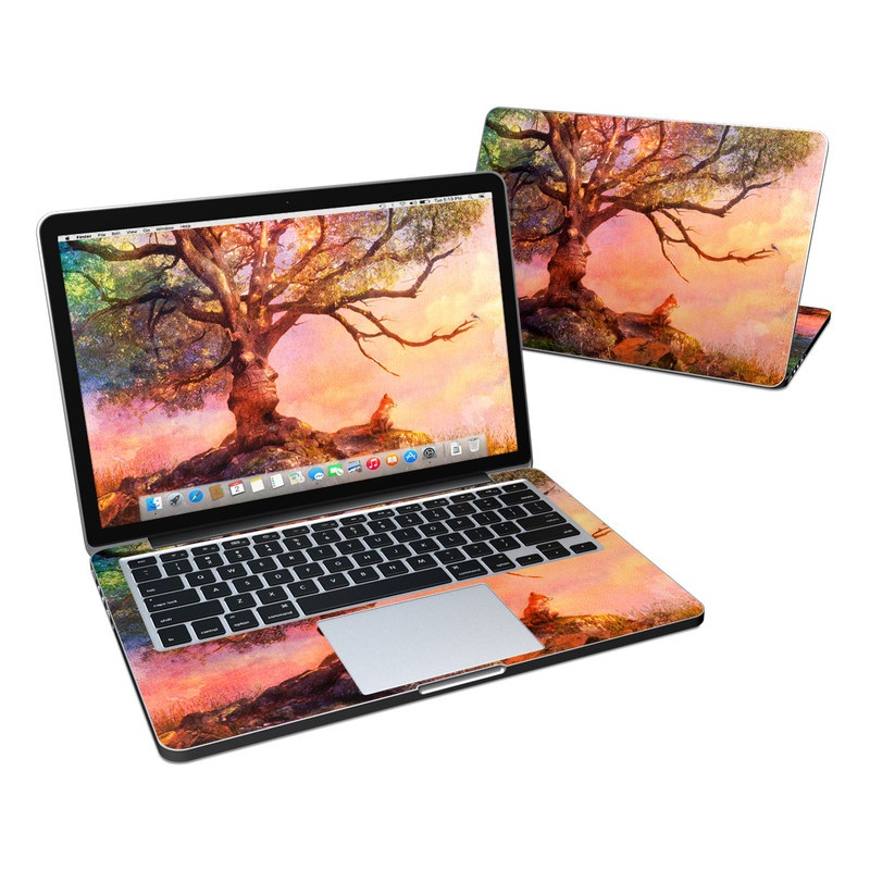Fox Sunset MacBook Pro Retina 13-inch Skin