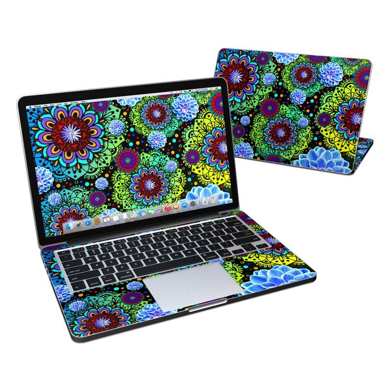 Funky Floratopia MacBook Pro Retina 13-inch Skin