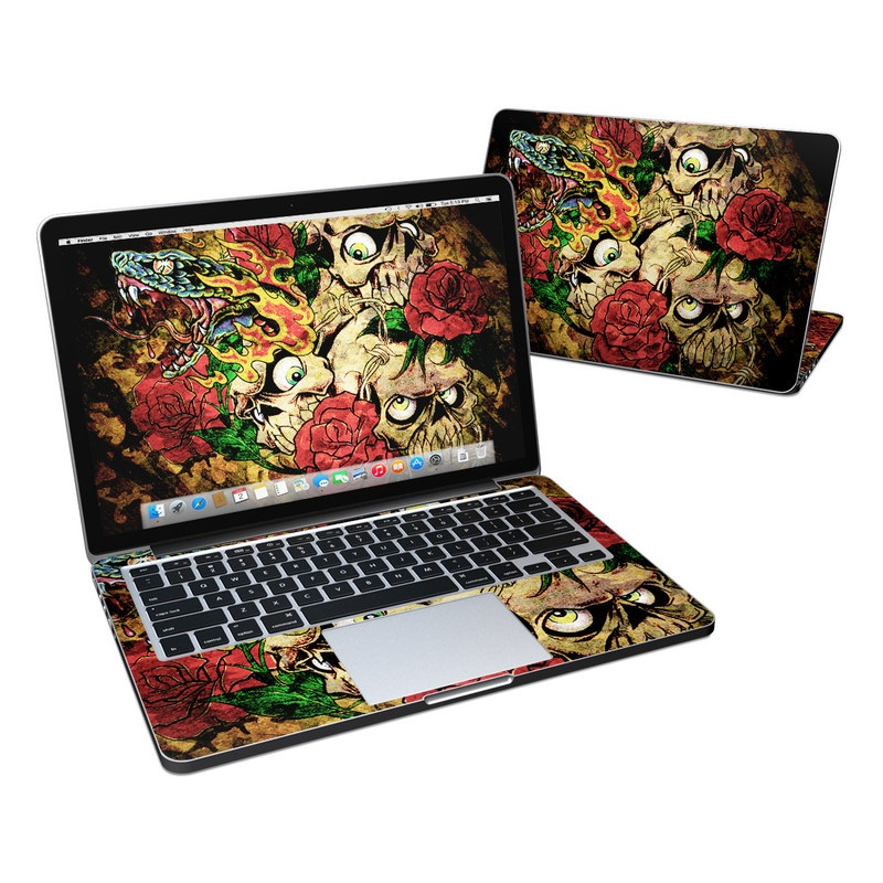 Gothic Tattoo MacBook Pro Retina 13-inch Skin