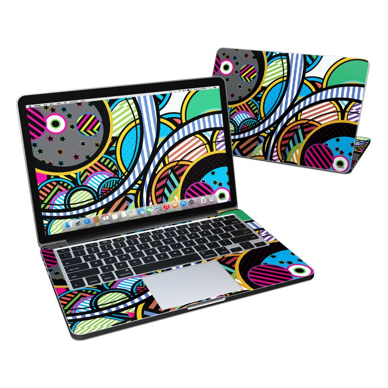 Hula Hoops MacBook Pro Retina 13-inch Skin