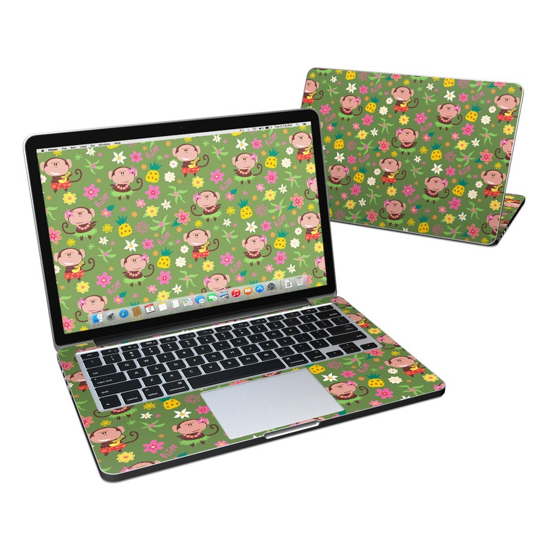Hula Monkeys MacBook Pro Retina 13-inch Skin