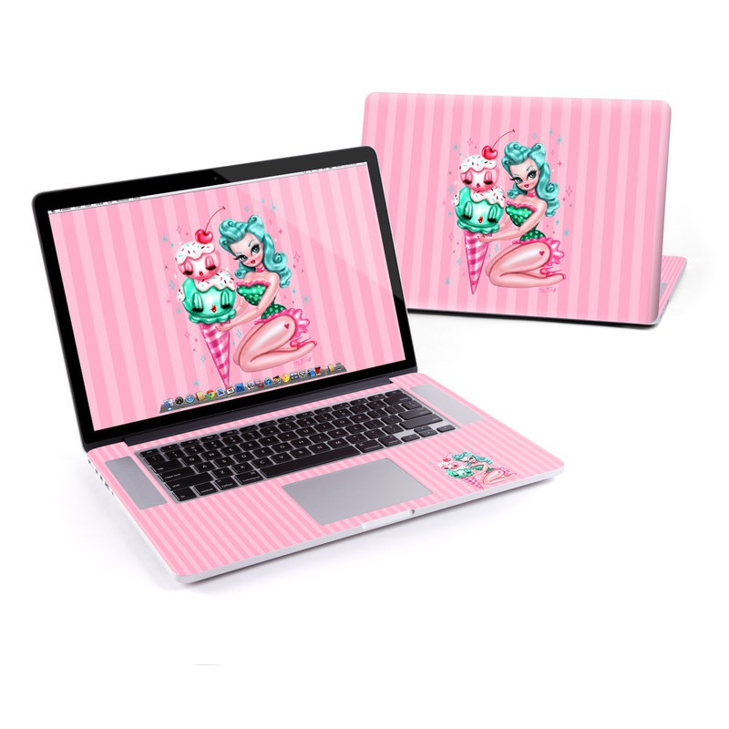 Ice Cream MacBook Pro Pre 2016 Retina 13-inch Skin