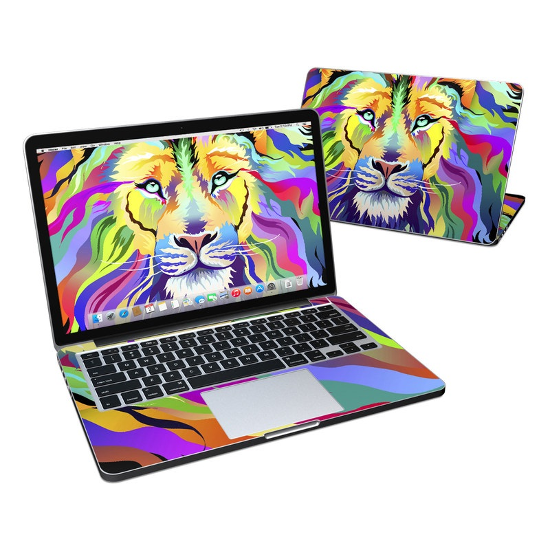 King of Technicolor MacBook Pro Pre 2016 Retina 13-inch Skin