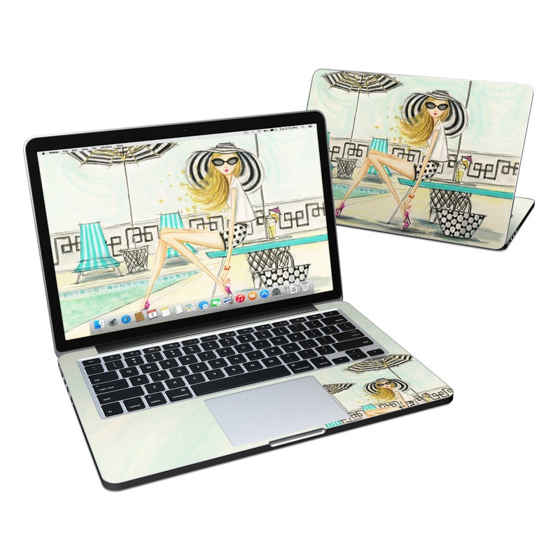 Luxe Retreat Poolside MacBook Pro Retina 13-inch Skin