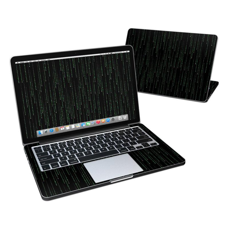 Matrix Style Code MacBook Pro Retina 13-inch Skin