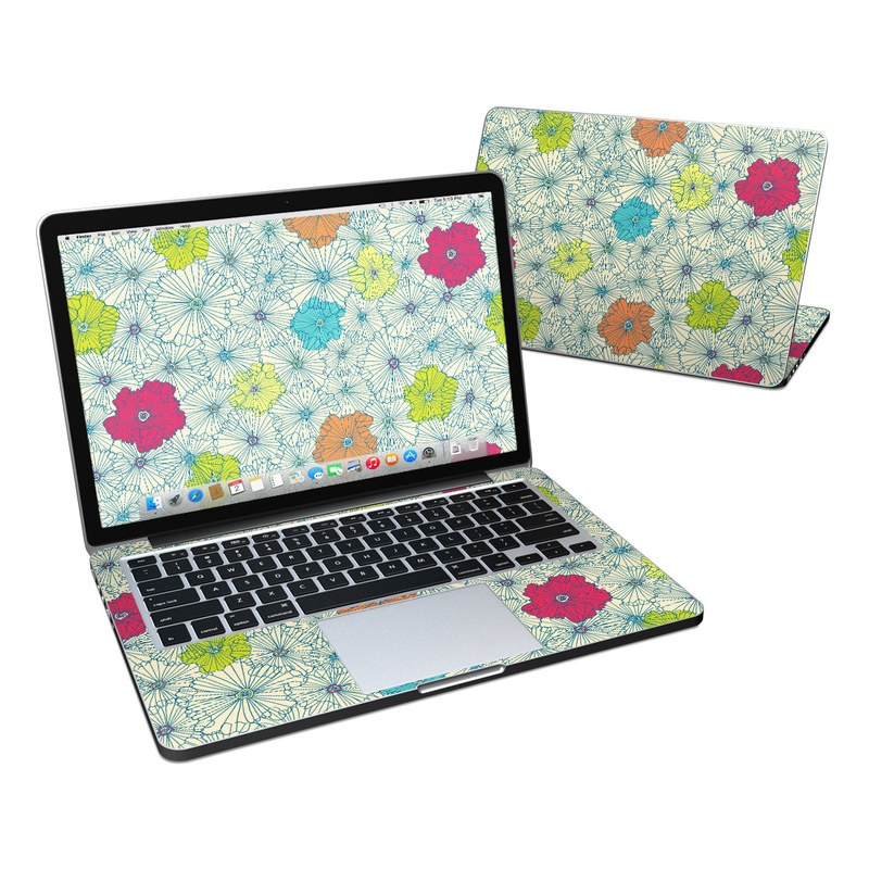 May Flowers MacBook Pro Retina 13-inch Skin