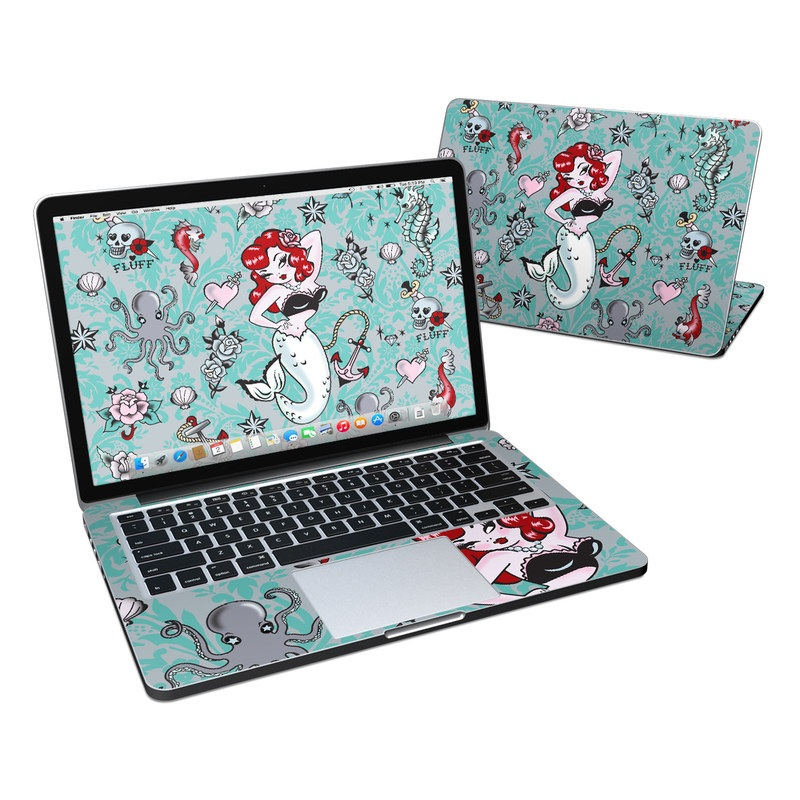 Molly Mermaid MacBook Pro Retina 13-inch Skin