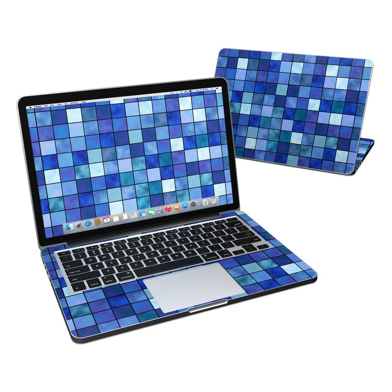 Blue Mosaic MacBook Pro Retina 13-inch Skin