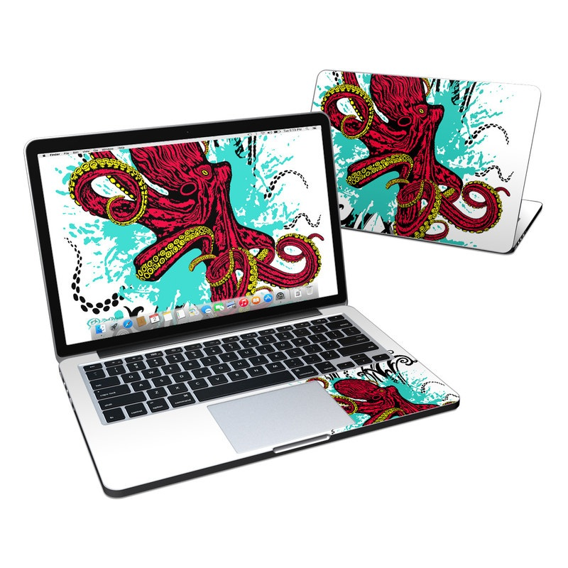 Octopus MacBook Pro Retina 13-inch Skin