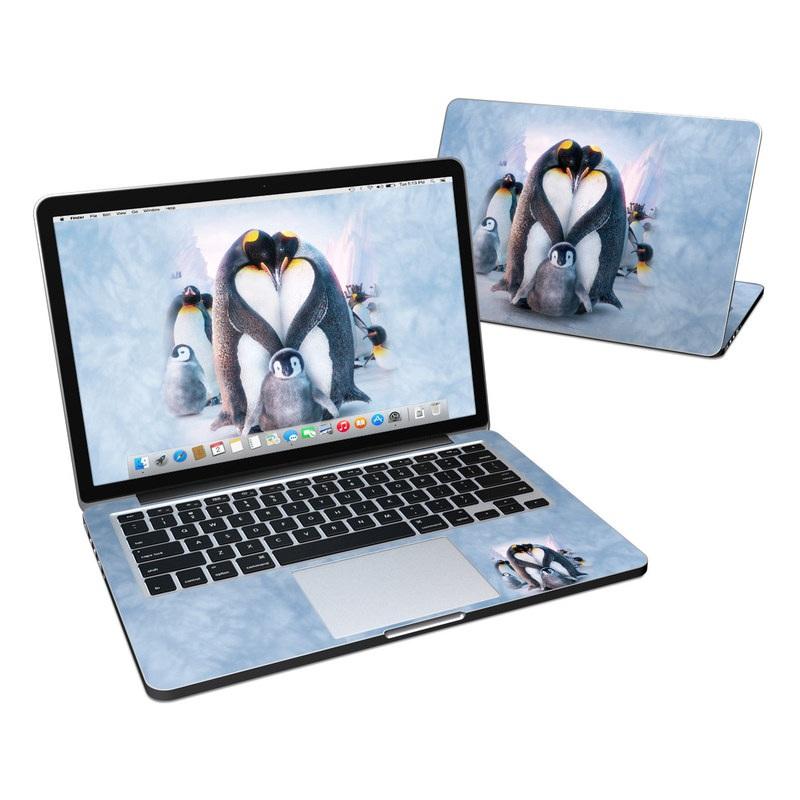 Penguin Heart MacBook Pro Retina 13-inch Skin